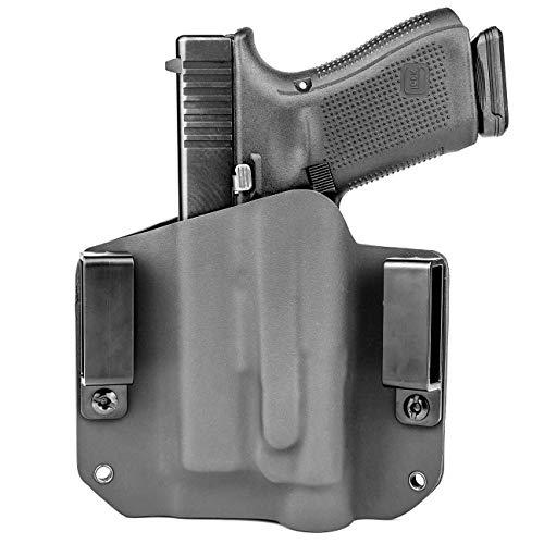 Bulldog Rapid Release OWB Kydex Paddle Gun holster Fits RUGER SR9