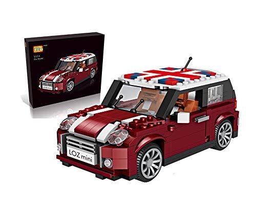 Outletdelocio. LOZ 1111. Kit de construccion miniaturizada. Mini Cooper. 492 Piezas