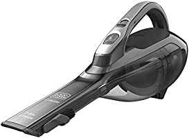 Black+Decker 21.6Wh Lithium-ion Dustbuster Cordless Hand Vacuum, Grey - DVA320J-B5