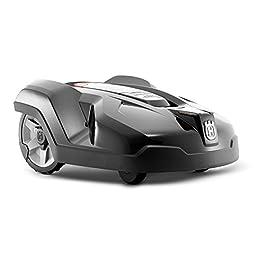 Husqvarna Automower 440 Robot Tondeuse Électrique sans fil Mulching, Roues Motrices Coupe 24 cm