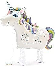 My Own Pet Balloons Magical Unicorn My Own Pet Walking Foil Balloon,pink, Purple, Blue, Green, Yellow, white