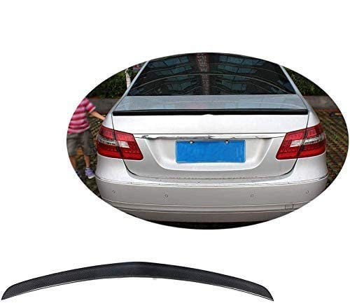 HOUGE Black Rear Spoiler, Used For Mercedes-Benz E-Class W212 E63 Amg 2008-2013 Trunk Lid Wing, Universal Carbon Fiber Modified Roof Extension Lip