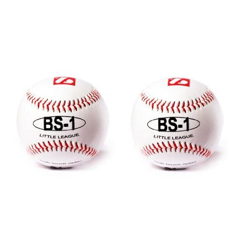 BARNETT BS-1 Baseball Ball Anfänger Baseball, Softtouch, Grösse 9, 2 pcs