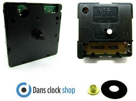 Nieuwe UTS Radio Bediende Tik Kwarts Klok Beweging Mechanisme DCF 11mm Schacht