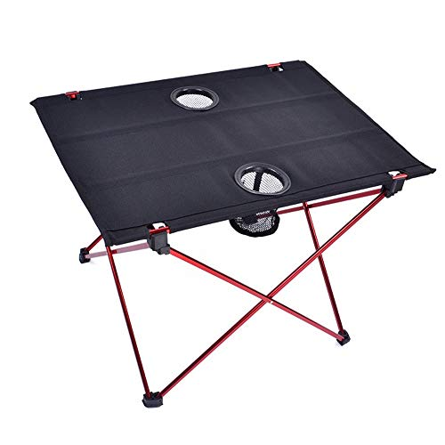 Table HDS HooRu Roll-up Folding Beach Fishing Portable Foldable Lightweight Backpacking Camping Outdoor Desk for Travelling