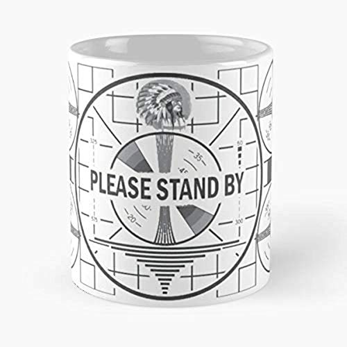 Tec Stand By Video Game Vault 4 Fallout - Best 11 Ounce Ceramic Mug - Classic Mug For Coffee, Tea, Chocolate Or Latte N35R
