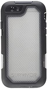 Griffin Survivor Summit Case for iPhone 6/6S - Black/Clear,GB41552 - 4.7 inches