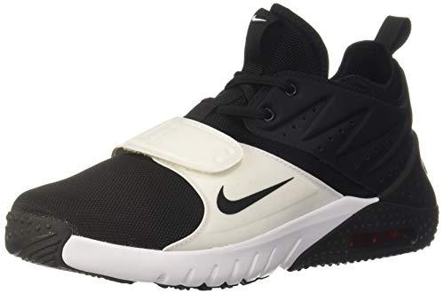 Nike Herren Trainingsschuh Air Max Trainer 1 Laufschuhe, Mehrfarbig (Black/White/Red Blaze 002), 45.5 EU