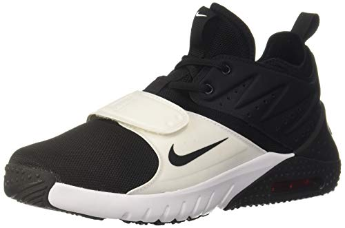 Nike Herren Trainingsschuh Air Max Trainer 1 Laufschuhe, Mehrfarbig (Black/White/Red Blaze 002), 40.5 EU