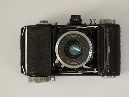 FOTOTECHNIK by LLL Beltica (erstes Modell) - Faltkamera für 35-mm Filme Objektiv Carl Zeiss JENA Tessar 1: 3,5 / 5cm CLUDOR