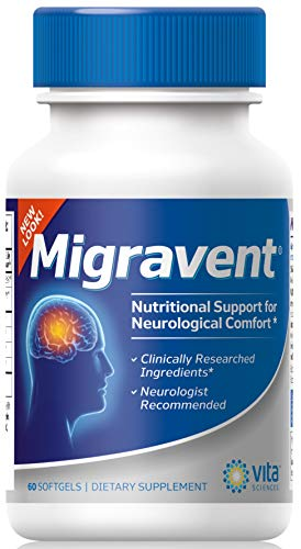 MIGRAINE PAIN-FREE SUPPORT – Migravent is recommended by Migraine Pain Relief Clinics to use a Migraine Supplement. Throughout the USA and was proudly featured in the Johns Hopkins University Headache Clinic Patient Handout. An optimal nutritional st...