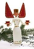 Erzgebirgische Figur Lichterengel 21cm NEU Weihnachtsfigur Tischdeko Engel
