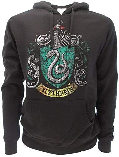 Sudadera original de Harry Potter con escudo de la casa serpeverde oficial Warner Bros 12
