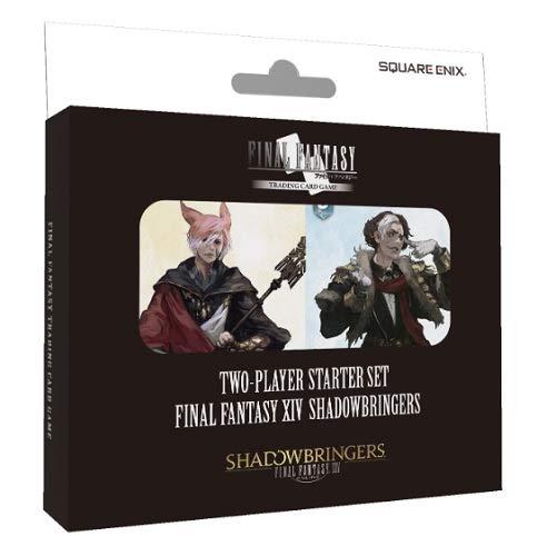Final Fantasy TCG XIV Shadowbringers Two Player Starter Set Decks - 2 x 50 Card Decks