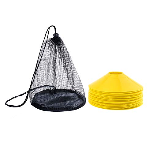 REEHUT Markierungshütchen Agilität Markierungsteller Set Kunststoffhalter - Markierungskegel für Ballspiel, Radsport, Kinder, Sportler Hütchen Dome Mini Trainingskegel
