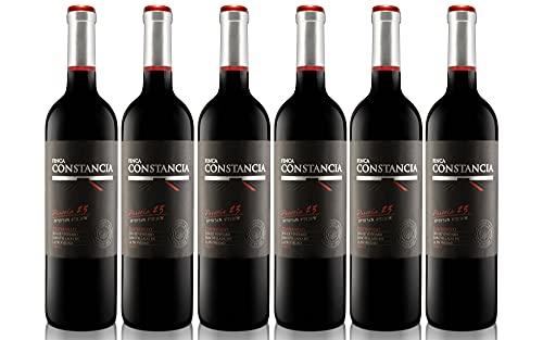 Finca Constancia Parcela 23 Tempranillo - Vino Tinto V.T. Castilla - 6 botellas de 750 ml - Total: 4500 ml