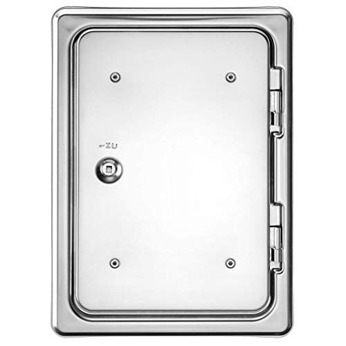 20651 1/pi/èce Upmann Softline Revi Porte en acier inoxydable 200/x 200/carr/é Fermeture