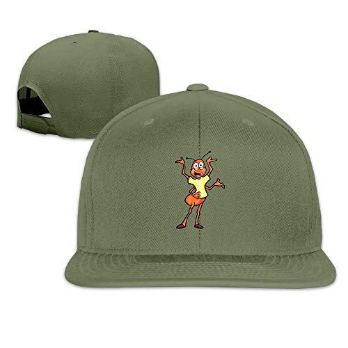 VTXINS Bulldog zonnebril gewassen Unisex verstelbare platte Bill vizier honkbal hoed