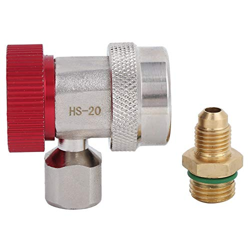 Qinlorgon Schnellkupplungen, R134A Hochdruckadapter-Absaugventilkern Quick Connect-Luftanschlüsse für die Industrie