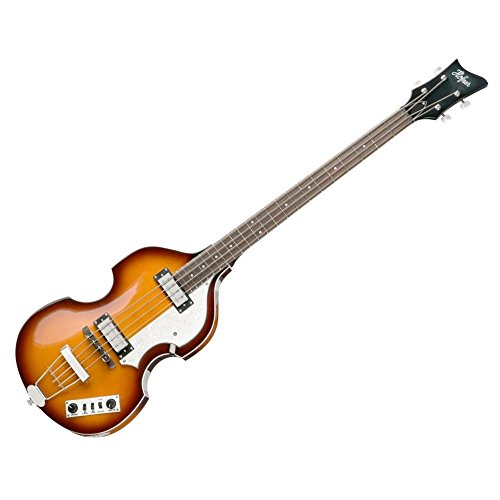 Hofner IGNITIONSB Electric Violin Bass Guitar -...