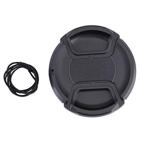 Sghjfj Cubierta de Lente 67mm Centro Pinch cámara Tapa del Objetivo (Negro)