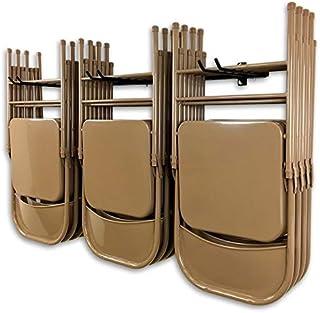 comprar comparacion StoreYourBoard Omni Silla de Almacenamiento en Rack, sillas Plegables y de Playa de Montaje en Pared, Sistema de suspensió...