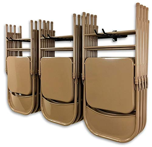 StoreYourBoard Omni Silla de Almacenamiento en Rack, sillas Plegables y de Playa de Montaje en Pared, Sistema de...