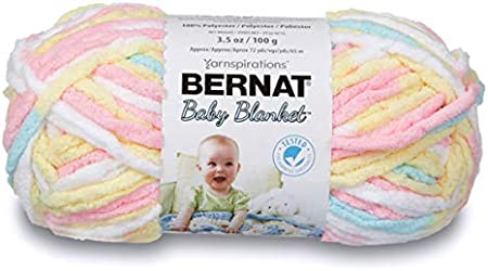 3402 niña Dove Bernat bebé manta gruesa de poliéster hilo de ganchillo 100g