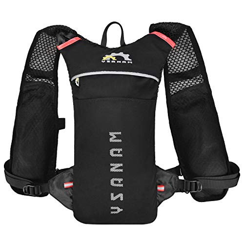 Blusea Mochila de ciclismo para hidratação, 2L, alça de ombro ajustável
