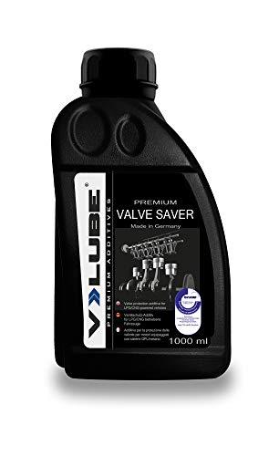 V-LUBE Valve Saver - 1 Liter - Ventilschutz Additiv für Gasfahrzeuge (LPG, Autogas, Erdgas) - TÜV - kontrollierte Qualität - Bestätigte Wirksamkeit - Made in Germany
