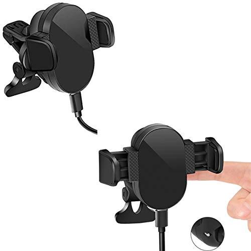 Gymy Soporte telescópico del teléfono móvil del coche totalmente automático del teléfono móvil de inducción infrarroja del soporte de navegación
