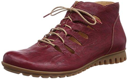 Think! Damen BESSA Kurzschaft Stiefel, Rot (Rosso/Kombi 72), 36 EU