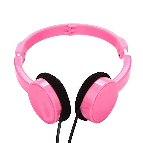 Auricular para juegos, Auricular por cable DJ profesional auriculares con micrófono sobre...
