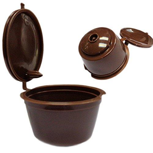 Demarkt Kaffee Kapseln nachfüllbar Kaffee Kapseln Tassen Kaffee Filter Kaffeekapselfüllung Wiederverwendbare Dolce Gusto Kaffee Kapseln