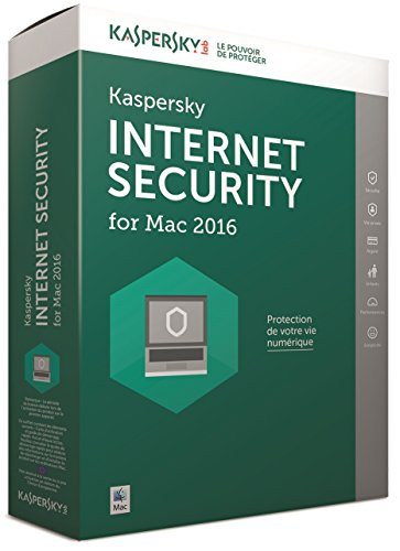Kaspersky internet security 2016 (1 poste, 1 an)
