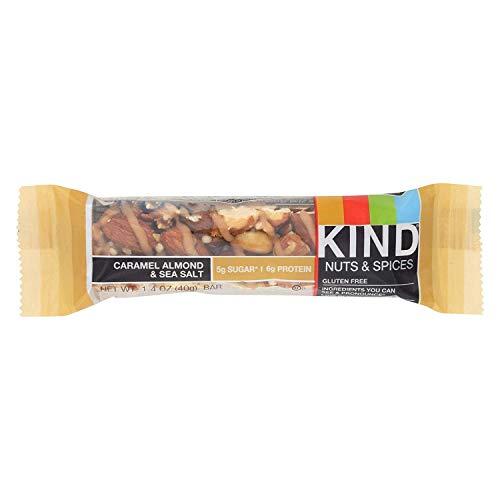 Kind Caramel Almond and Sea Salt Bar, 1.4 Ounce - 12 per case.