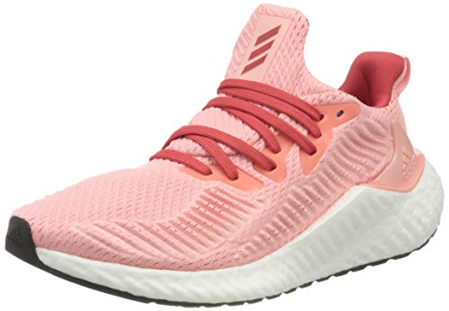 adidas Alphaboost W, Zapatillas para Correr Mujer, Glory Pink/Glory Red/Silver Met, 38 EU ✅
