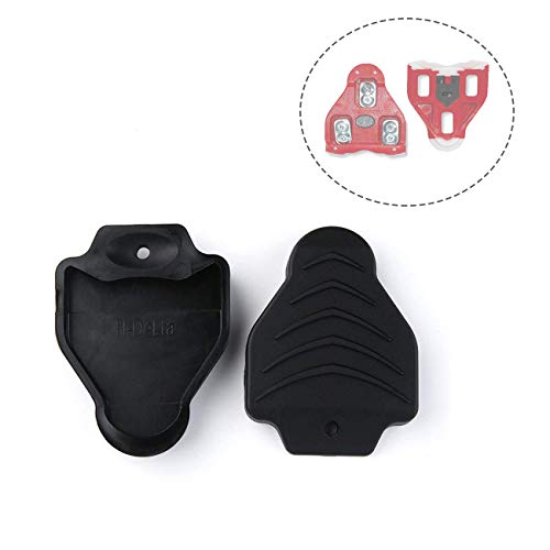 Thinvik Cleat Covers Bicycle Shoe Clipless Protector for Look Delta Pedal Cleats Systems(1 Pair)