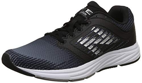 New Balance M480V6, Zapatillas de Running para Hombre, Negro (Black/Grey), 45.5 EU