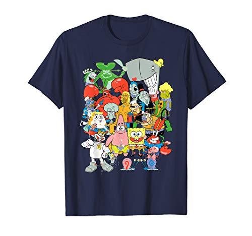Spongebob Squarepants Cast Of Characters T-Shirt