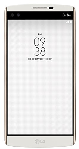 LG V10 Smartphone (5,7 Zoll (14,47 cm) Touch-Display, 32 GB interner Speicher, Android 5.1) weiß