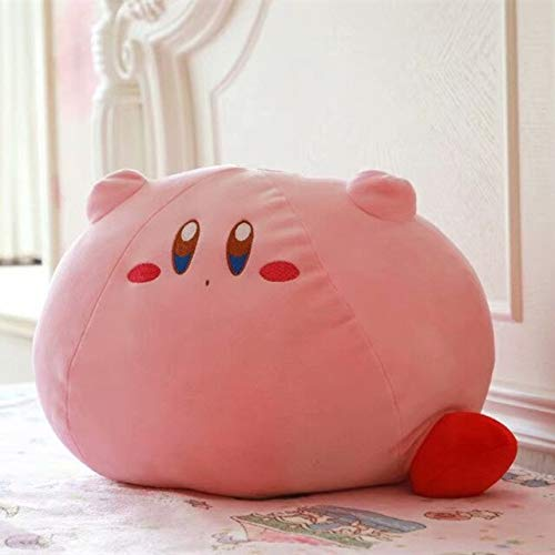 Juantin Store Animals Stuffed Pillow New Game Kirby Adventure Kirby Plush Toy Soft Doll Stuffed Animals Pillow Toys for Children Birthday Gift Sleeping Doll-Pink-Big Size