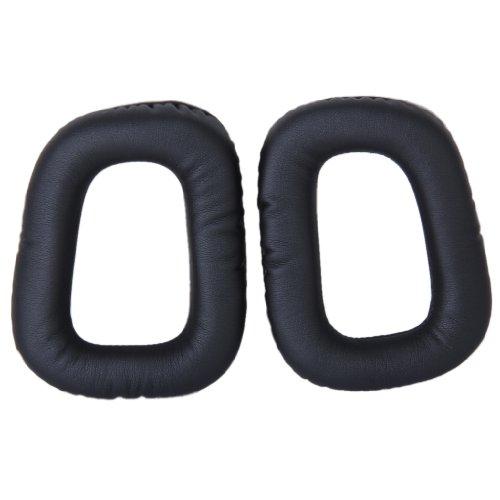 Unbekannt Ersatz Schwarz Ersatzohrpolster Ohrpolster für G35 G930 G430 F450 Kopfhörer