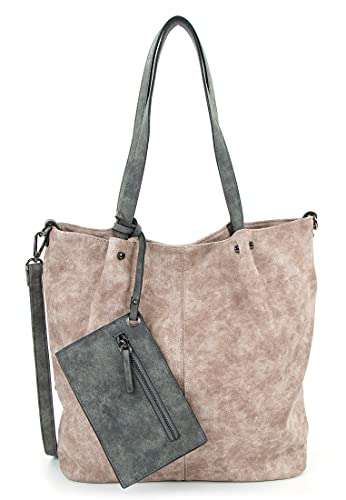 Emily & Noah Shopper Bag in Bag Surprise 300 Damen Handtaschen Uni rose l grey 658 One Size