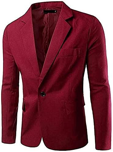 [アスペルシオ] カラフル 長袖 ジャケット メンズ フォーマル 紳士 細身 細い アウター シングル ボタン 1...