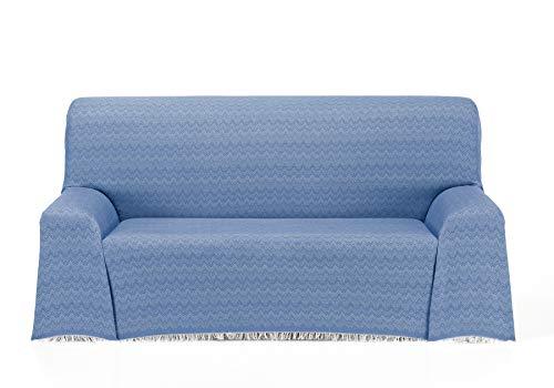 Cardenal Textil Regina Foulard Multiusos, Azul, 230x290 cm