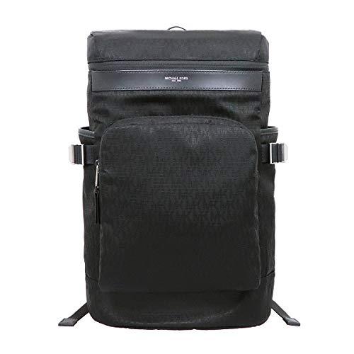 [マイケルコース] MICHAEL KORS バッグ(リュック) 37U9LKNB4J ブラック ケント シグネチャー サイクリング バックパック メンズ レディース [アウトレット品] [ブランド] [並行輸入品]