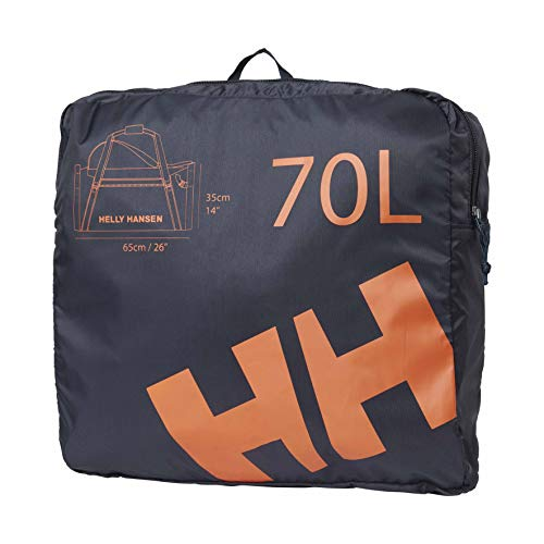 Helly Hansen HH Duffel Bag 2 70L Bolsa de Viaje, Adultos Unisex, 598 Navy (Azul), Talla Única