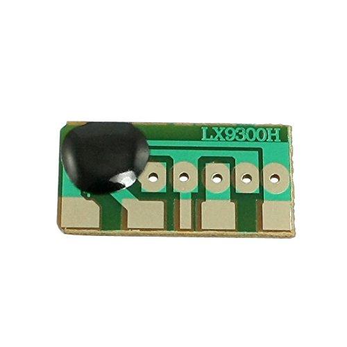 Rechthoek vorm drie ringende deurbel geluid muziek chip kaart