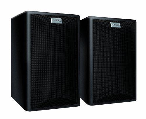 Quadral Maxi 440 2-Wege Bassreflex Regallautsprecher Paar (100/150 Watt) schwarz